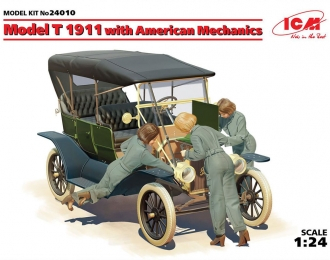 Сборная модель Model T 1911 с американскими механиками