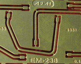 Фототравление Кронштейны зеркал ZIL 4331, ZIL 4333