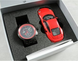 Подарочный набор: хронограф 911 Turbo S Classic + модель PORSCHE 911 turbo s ограниченная серия