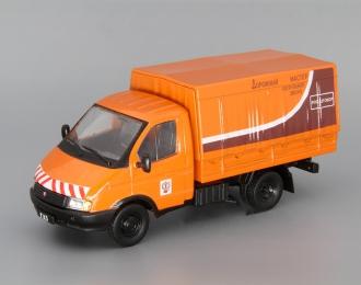 Горький 3302 Дорожная служба, Автомобиль на службе 42, оранжевый