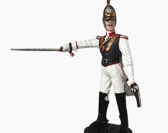 Фигурка Офицер Лейб-Кирасирского Ее Величества полка, 1812