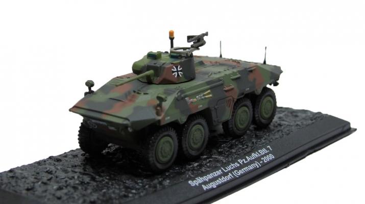 Spahpanzer Luchs Pz.. Aufki. Btl. 7. Augustdorf Germany (2000), Автомобиль на Службе Спецвыпуск