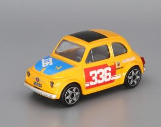 FIAT 500 #336, yellow