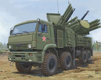 Сборная модель ЗРК Russian 72V6E4 Combat Vehicle of 96K6 Pantsir -S1 ADMGS