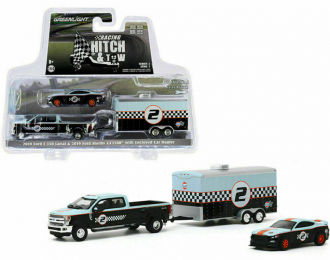 """набор FORD F-350 Dually Pick-Up с прицепом и FORD Shelby GT350R """"Gulf Oil"""" 2019"""