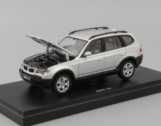 BMW X3 3.0i, silver