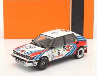 "LANCIA Delta Integrale 16V #6 ""Martini"" Kankkunen/Piironen 3 место Rally Portugal 1990"