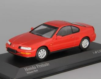 HONDA Prelude (1992), red