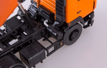 МАЗ-6501 самосвал U-образный кузов, оранжевый