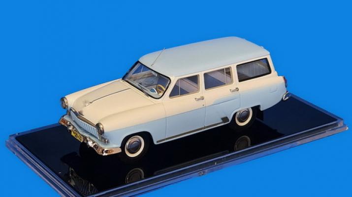 Горький М-22 - Опытный, поздний вариант (в деталировке второй серии) 1961 г.