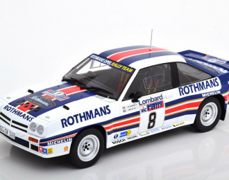 "OPEL Manta 400 #8 ""Rothmans"" McRae/Grindrod RAC Rally 1983"