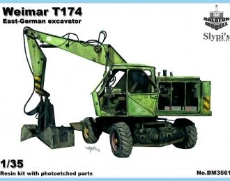 Сборная модель Немейкий экскаватор Weimar T174