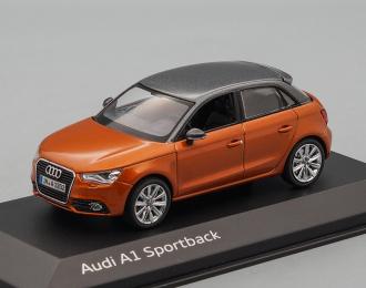 AUDI A1 Sportback, orange / silver