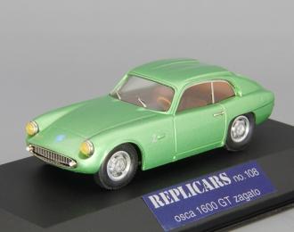 OSCA 1600 GT Zagato, green metallic