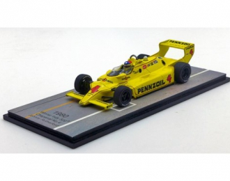 CHAPARRAL 2K 4 Победитель Indy 500 1980 Johnny Rutherford, yellow