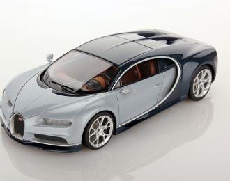 Bugatti Chiron 2016 (turquoise / silver)
