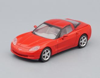 CHEVROLET Corvette Coupe (2006), red