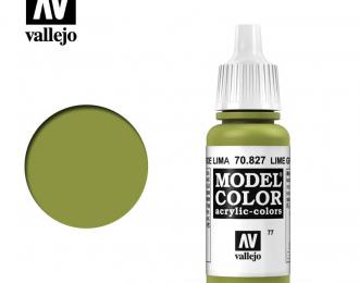 Краска акриловая `Model Color` Зеленый лимон/Lime Green