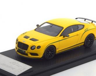 BENTLEY CONTINENTAL GT3 R - 2015 - MONACO YELLOW