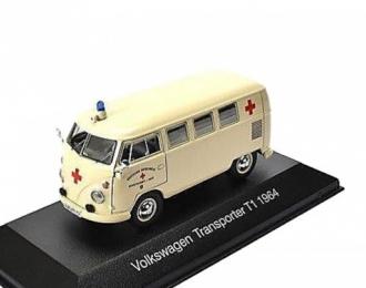 "VOLKSWAGEN T1 Transporter ""Ambulance"" (немецкий Красный крест) 1964"