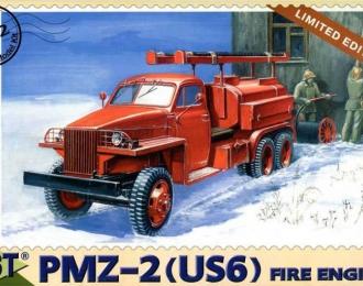 Сборная модель Пожарная автомашина ПМЗ-2 (US 6)