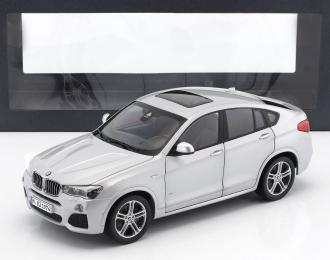BMW X4 (2015), silver