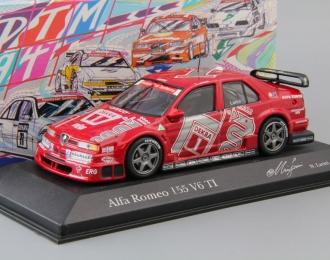 ALFA ROMEO 155 V6 TI DTM Team Alfa Corse N. Larini #1 (1994), red