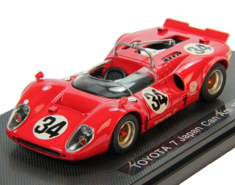 TOYOTA 7 Japan Can Am (1968), red