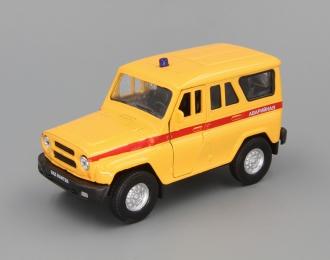 УАЗ Хантер аварийная, желтый