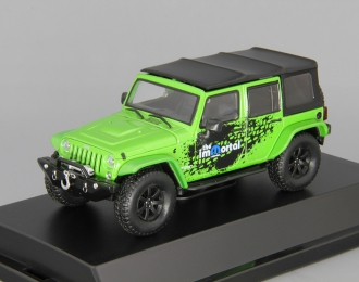 JEEP Wrangler 4x4 Unlimited MOPAR Edition The Immortal Tribute 5-дв.(Soft Top) (2014), green
