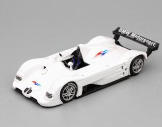 BMW V12 LMR, white