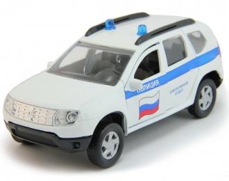 RENAULT Duster Полиция, white