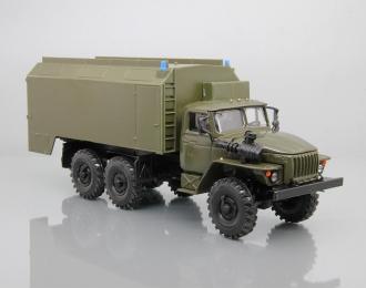 Уральский грузовик 4320 КУНГ, хаки
