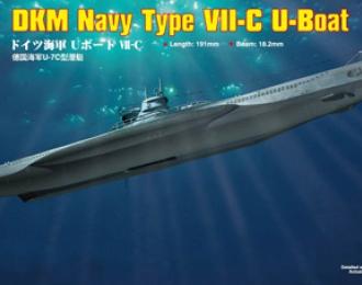 Сборная модель Подводная лодка German Navy Type VII-C U-Boat