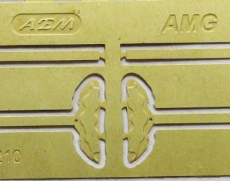 Фототравление Тормозные суппорта AMG