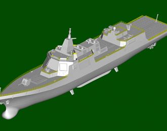 Сборная модель PLA Navy Type 055 Destroyer