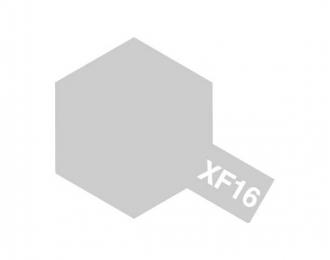 XF-16 Flat Aluminum (краска эмалевая, алюминиевый матовый), 10мл.
