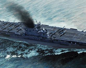 Сборная модель USS Enterprice CV-6