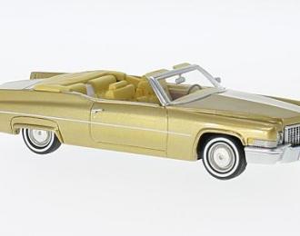 CADILLAC Deville Convertible 1970 Gold