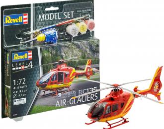Сборная модель Вертолет EC 135 Air-Glaciers (подарочный набор)