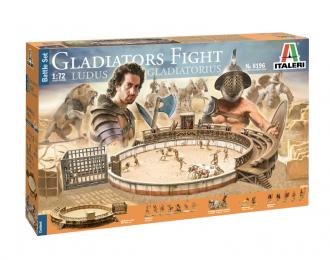 Сборная модель Набор GLADIATORS FIGHT - BATTLE SET