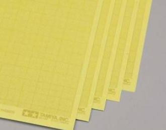 Самоклеящаяся маскирующая бумага c миллиметровой разметкой, 5 листов