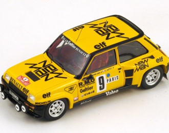 Renault 5 Turbo #9 5th Monte Carlo Rally 1982 B. Saby - F. Sappey