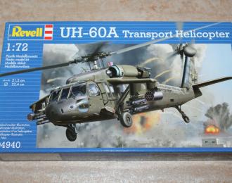 Сборная модель UH-60A Transport Helicopter