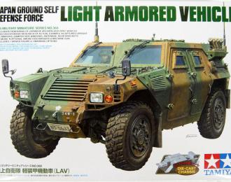 Сборная модель Японский бронеавтомобиль с фигурой водителя
