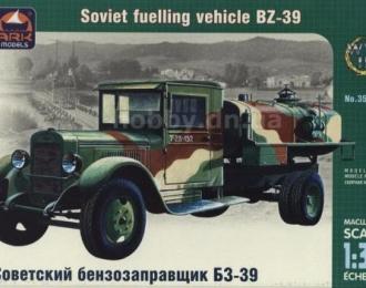 Сборная модель Советский бензозаправщик ЗиС-5 БЗ-39