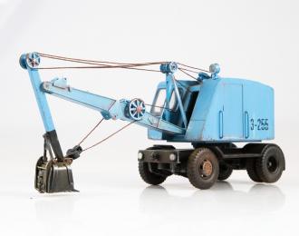 Экскаватор-255, синий