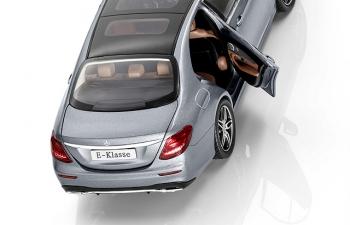 "MERCEDES-BENZ E-Class Limousine ""AMG Line"" W213 (2016), grey selenit"
