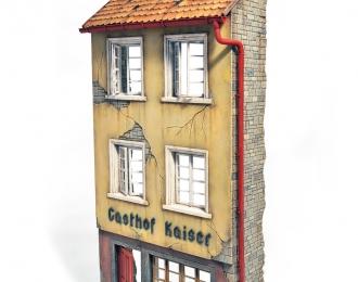 Сборная модель Наборы для диорам RUINED GERMAN GASTHOF