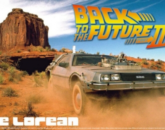 Сборная модель Back To The Future DeLorean from Part III